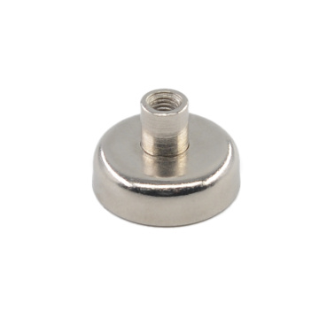 RPM-D25 Round Pot Magnetic Holder Inner Thread Rod