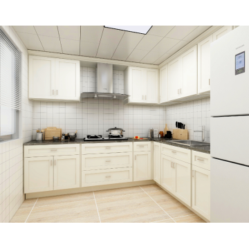 Modern White Kitchen Room Cabinets