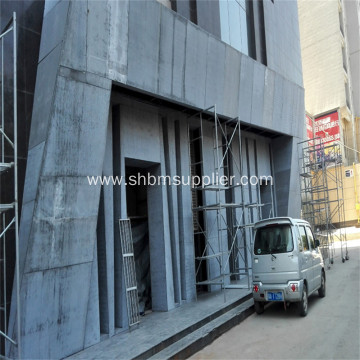 No-formaldehyde Anti-flame External Panel Fiber Cement Board