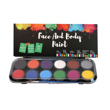 12 Colors Makeup Party Pack Face Paint