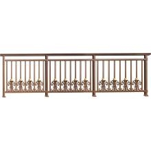 Bouquet aluminum balcony fence