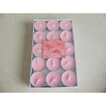 Set of 15 Pink Soy Tealight Candle