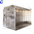 Fast burning cremation machine for human body cremation