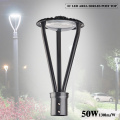 50W Led Garden Lights Posts 6500LM