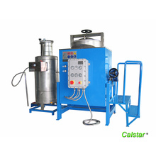Noise free solvent recovery machine