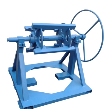 steel coil decoiler manual machine