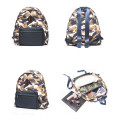 Camouflage style casual large capacity backpack
