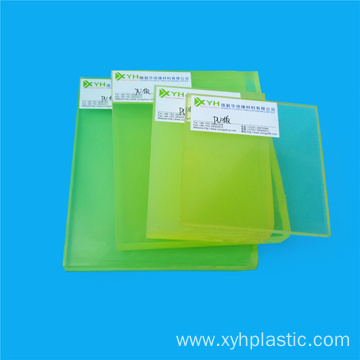 40mm Thickness Abrasive Transparent Clear PU Plates