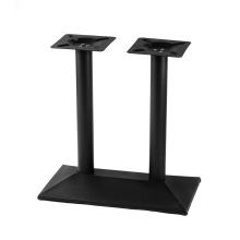 Counter height high top metal bar table base