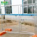 Portable 6' x 10' Chain Link Temporary Fence