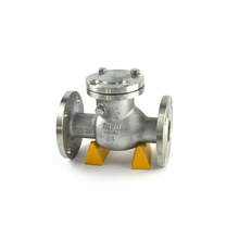 JKTL high performance diesel fuel counterweight flange swing check valve