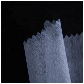 100% polyester cheapest paper fusible nonwoven interlining