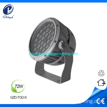 72W high quality led flood light led projector