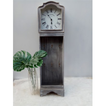 China Gold Supplier for Home Decoration Wooden Clock Long Antique Wooden Clock supply to Brunei Darussalam Factory