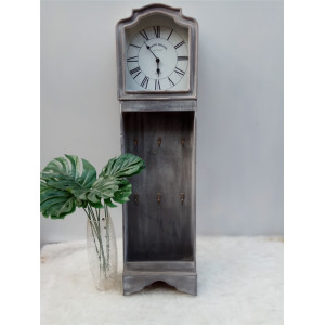 China OEM for Wooden Clock Long Antique Wooden Clock export to Niue Factory