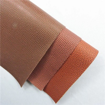 Abrasive resistance recycled synthetic PU leather for balls