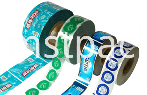 Plastic Print Roll 12 colors label