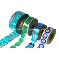Plastic Roll Print 12 colors Label