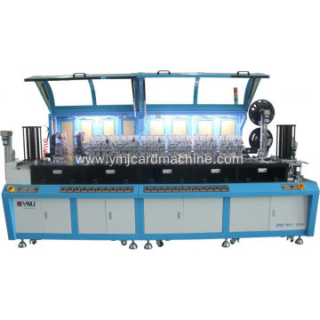 Smart Card Six Cores Chip Embedding Machine