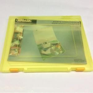 Plastic A4 document storage box