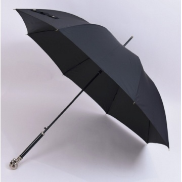 Automatic metal Skull Head Compact Windproof Travel Umbrella
