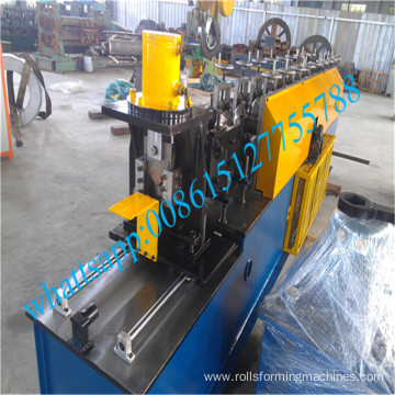 Wall angle and L shape roll forming machine