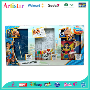 DC SUPER HERO GIRL activity set