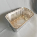 Food Packing Aluminium Foil Container Set Cover