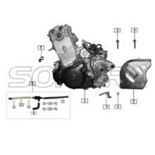 ENGINE for ZONGSHEN RX3 SPARE PARTS TOP QUALITY