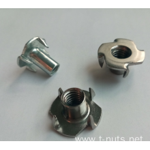 "4 Pronged 5/8"" T-Nut for Climbing Holds"