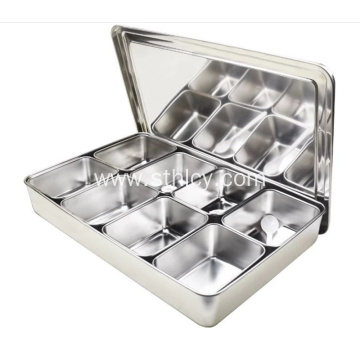304 Stainless Steel Chinese Japanese Seasoning Box