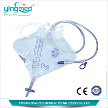 OEM/ODM for Urinary Drainage Bag With T Valve,Disposable Urine Collection Bag,Disposable Pediatric Urine Collection Bag,Urine Drainage Bag For Children Wholesale From China Pyriform 2000ml Urine Collection Bag supply to Costa Rica Manufacturers