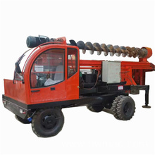 truck mounted rotary pile drilling rigs with auger