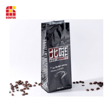 Custom printed 250g coffee bag with air valve