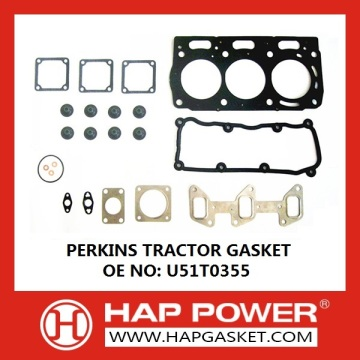 Factory directly sale for Gasket Set PERKINS TRACTOR GASKET U5lT0355 export to Comoros Importers