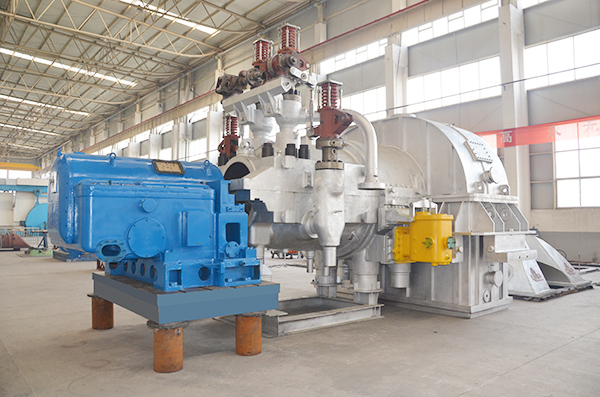 Extracting Condensing Steam Turbine