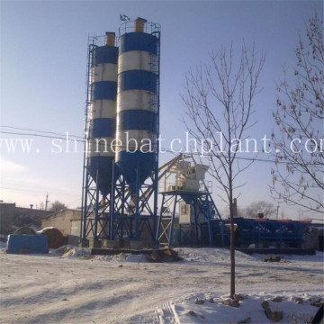 20 Portable Concrete Batching Mix Plants