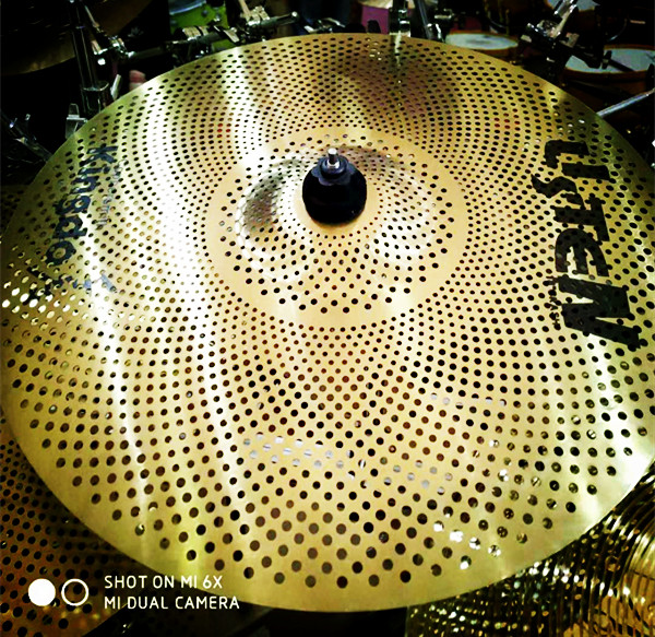 Yellow Low Sound Cymbals