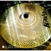Super Purchasing for Drum Practice Cymbal Yellow Low Sound Cymbals supply to San Marino Factories