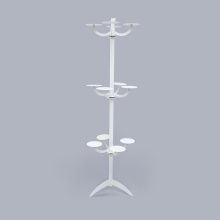 China for Fixtures And Floor Stands Customized Small Metal Display Rack For Hairpiece export to Japan Manufacturer