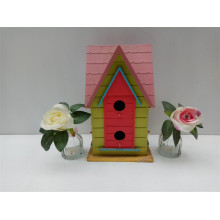 High Quality for Colour Wooden Birdhouse Villa Style More Door Wooden Bird House supply to Togo Manufacturers