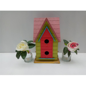 Supplier for Popular Wooden Bird House Villa Style More Door Wooden Bird House supply to Azerbaijan Manufacturers