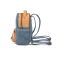 Totem Embroidered Fringe Decorative Backpack