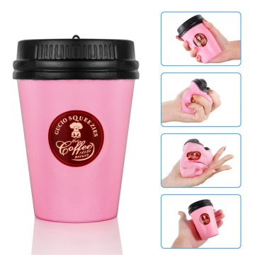 Jumbo Coffee Cup Kawaii Squishies Slow Rising Toys