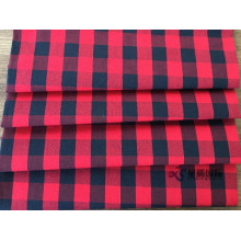 High Quality for Cotton Jacquard Yarn Dyed Fabric Classic Red And Black Plaid Cotton Apparel Fabric export to Yugoslavia Manufacturers