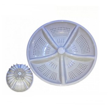 Washing machine plastic swivel plate hydrophyllium