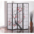 Shoji 4 Panel Folding Privacy Screen Room Divider