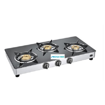 Classic 3 Burner Toughened Glass Cooktop