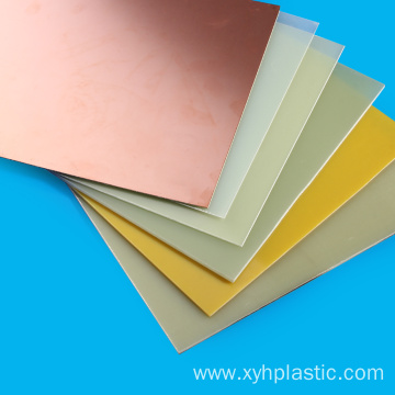Yellow Phenolic Epoxy Resin Sheet Fr4
