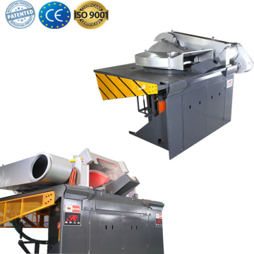 Industrial induction furnace for melting iron smelter